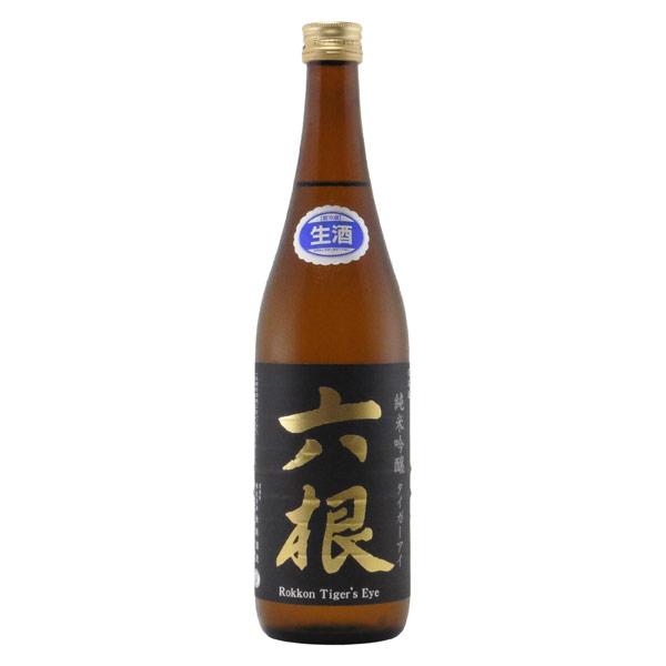六根 タイガーアイ 純米吟醸 生酒 青森県松緑酒造 720ml