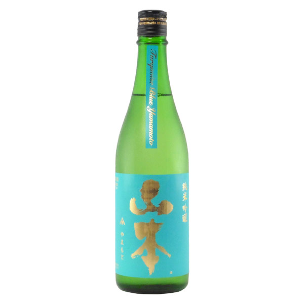 山本ターコイズブルー 純米吟醸酒 改良信交 秋田県山本合名 720ml