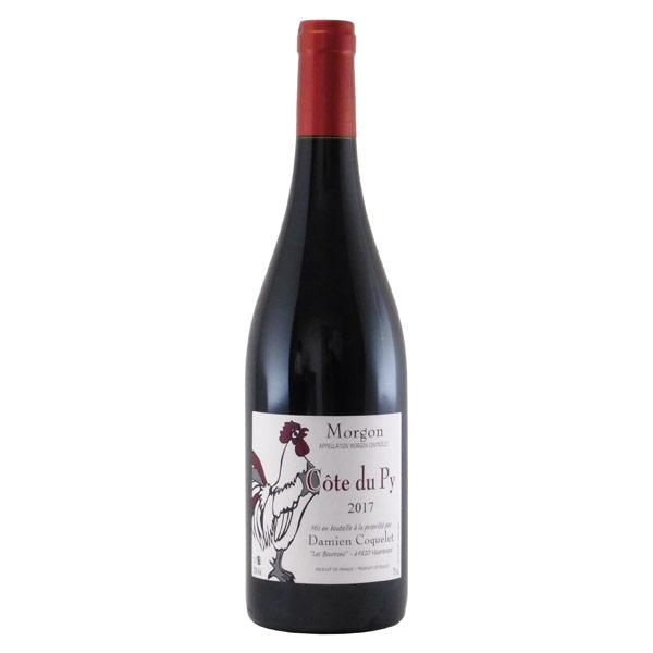 モルゴン・コート・デュ・ピィ 2017 ダミアン・コクレ フランス ボージョレ 赤ワイン 750ml