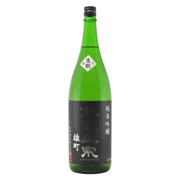 雄東政宗 純米吟醸生もと造り 栃木県杉田酒造 1800ml