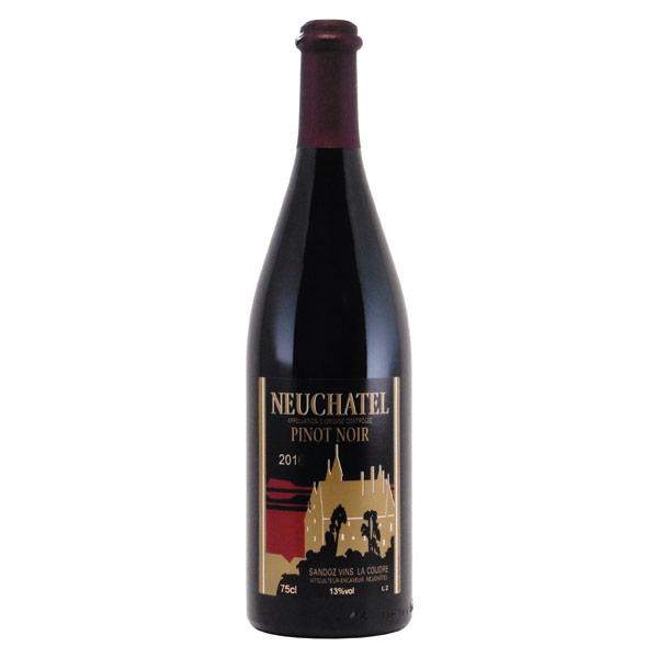 ヌシャテル・ピノ・ノワール 2016 サンド スイス ヌシャテル ワイン 750ml