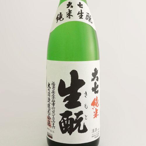 大七 純米酒 生もと造り 福島県大七酒造 1800ml