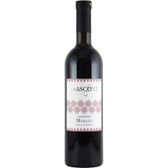 アスコニ・エクセプショナル メルロ 2014 アスコニ モルドバ コドゥル地区 赤ワイン 750ml