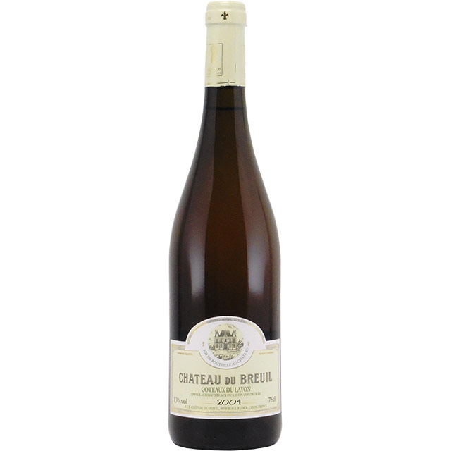 コトー・デュ・レイヨン 2004 シャトー・デュ・ブルイユ フランス ロワール 白ワイン 750ml