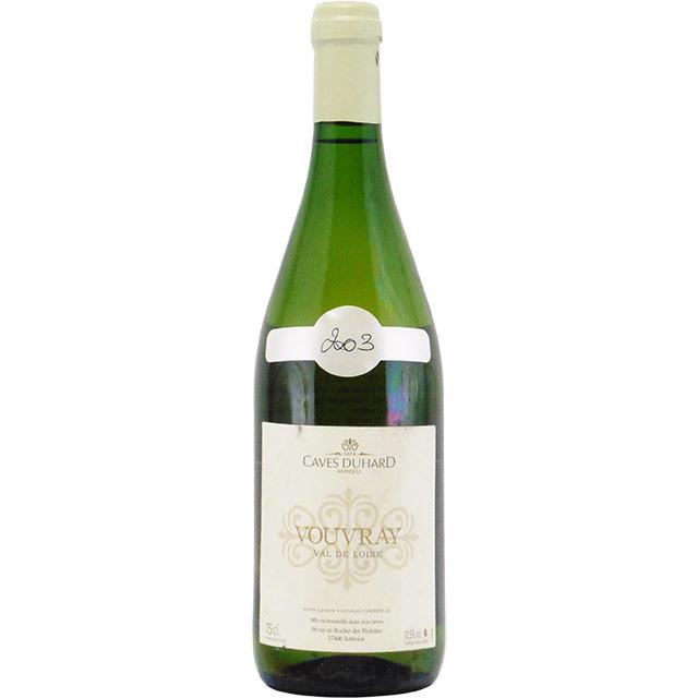 ヴーヴレ ドミ・セック 2003 カーヴ・デュアール フランス ロワール 白ワイン 750ml