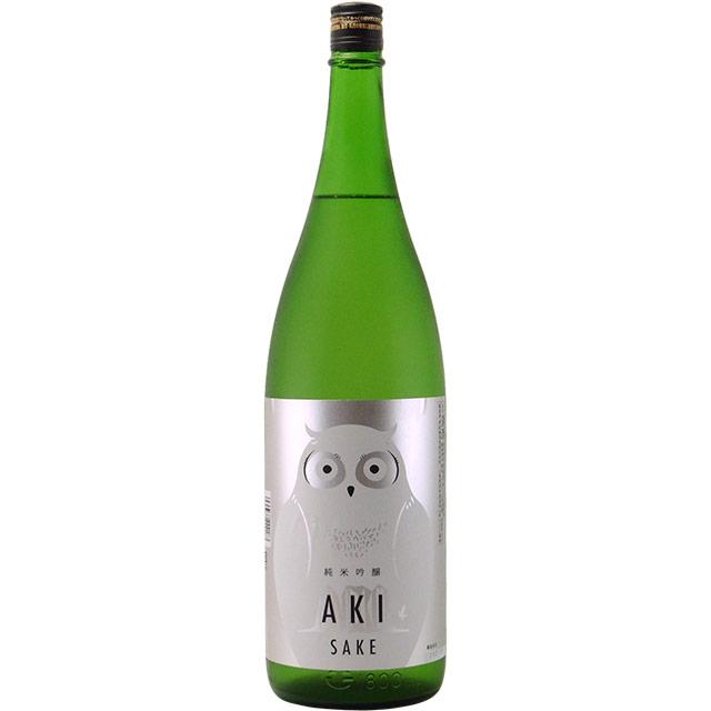寒紅梅AKIふくろうラベル 純米吟醸 火入 三重県寒紅梅酒造 1800ml