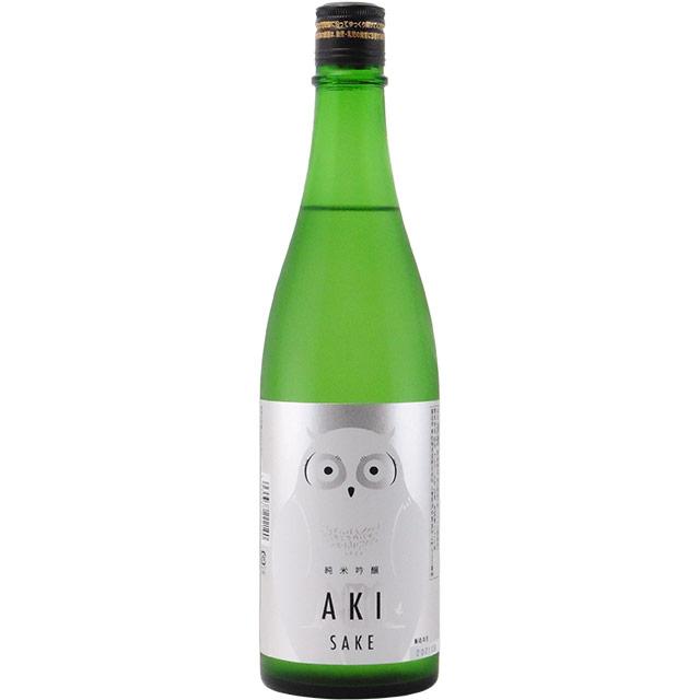 寒紅梅AKIふくろうラベル 純米吟醸 火入 三重県寒紅梅酒造 720ml