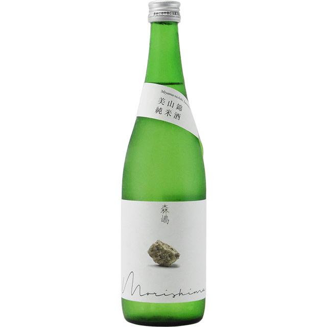森嶋 美山錦 純米酒 生詰め 茨城県森島酒造 720ml