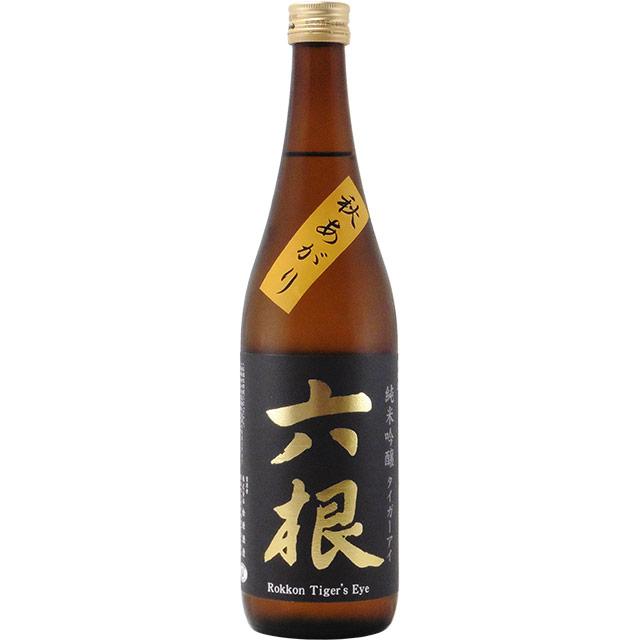 六根 タイガーアイ 純米吟醸 秋あがり 青森県松緑酒造 720ml