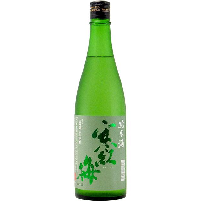 寒紅梅 純米 純米 山田錦60% 三重県寒紅梅酒造 720ml