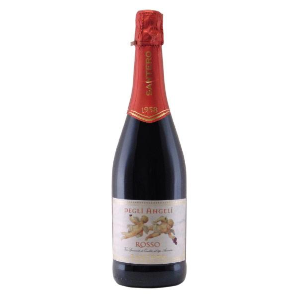 天使のロッソ サンテロ イタリア ピエモンテ スパークリング赤ワイン 375ml