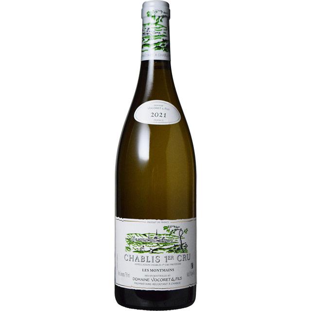 シャブリ プルミエ・クリュ・モンマン 2018 ドメーヌ・ヴォコレ フランス ブルゴーニュ 白ワイン 750ml
