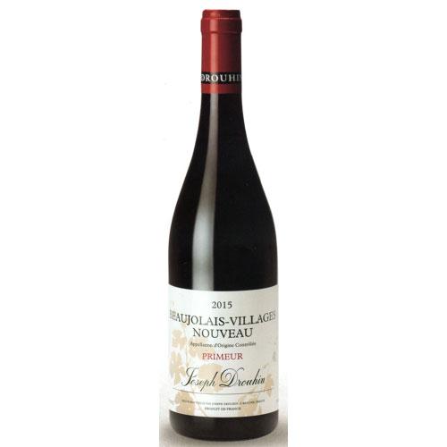 ボージョレ・ヌーヴォ・ヴィラージュ 2021 ジョセフ・ドルーアン フランス ブルゴーニュ 新酒赤ワイン 750ml