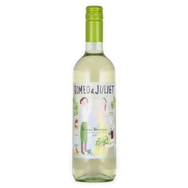 ロミオ&ジュリエット・ビアンコ モンテヴェッロ イタリア ヴェネト 白ワイン 750ml