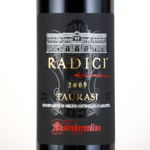タウラージ・ラディーチ 2009 マストロベラルディーノ イタリア カンパーニア 赤ワイン 750ml