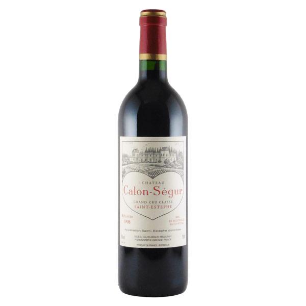 シャトー・カロン・セギュール 第3級 1998 シャトー元詰 フランス ボルドー 赤ワイン 750ml