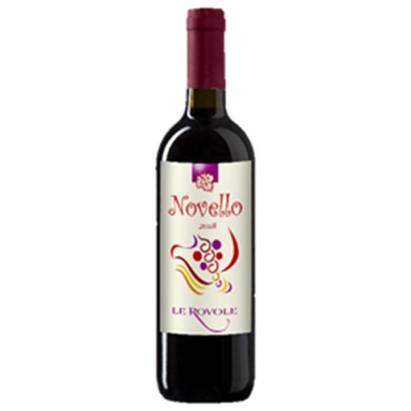 """レ・ローヴォレ""""ノヴェッロ・ヴェネト 2020 イタリア ヴェネト 新酒赤ワイン 750ml"""