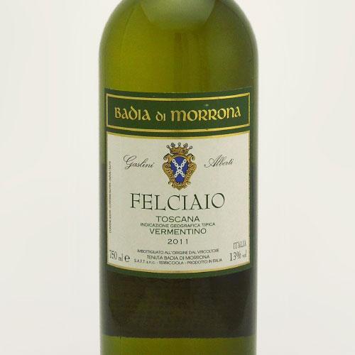 フェルチャイオ・ビアンコ 2011 バッディア・ディ・モローナ イタリア トスカーナ 白ワイン 750ml