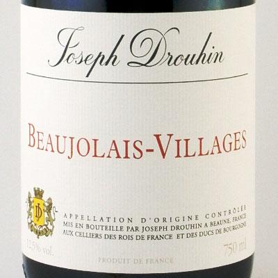 ボージョレ・ヴィラージュ 2009 ジョセフ・ドルーアン フランス ブルゴーニュ 赤ワイン 750ml