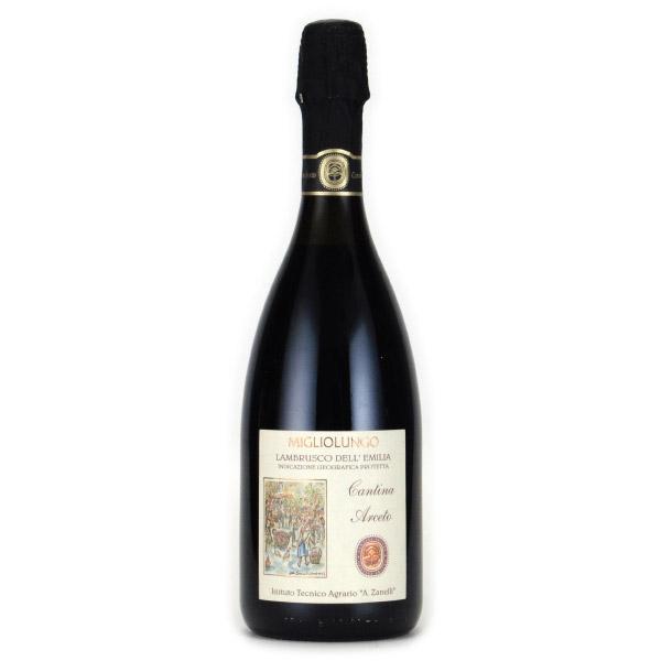 ランブルスコ ミッリオルンゴ 2016 カザーリ・ヴィティクルトーリ イタリア エミリア・ロマーニャ 赤ワイン 750ml
