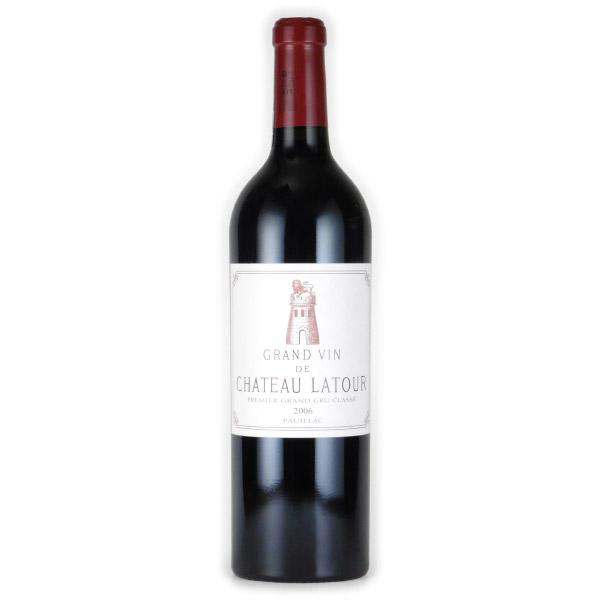 シャトー・ラトゥール 第1級 2006 シャトー元詰 フランス ボルドー 赤ワイン 750ml