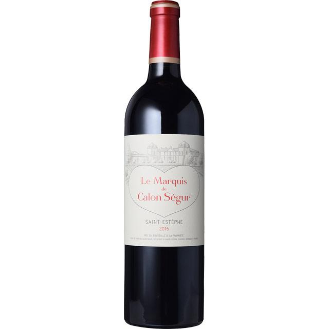 マルキ・ド・カロン・セギュール セカンド 2016 シャトー元詰 フランス ボルドー 赤ワイン 750ml