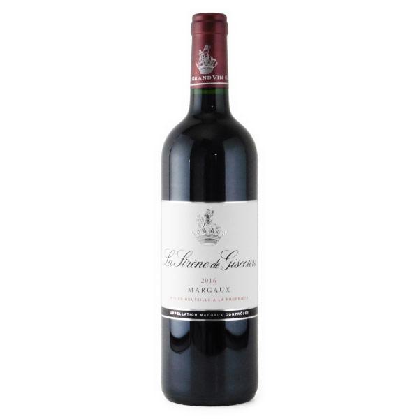 ラ・シレーヌ・ド・ジスクール 格付け3級のセカンド 2016 シャトー元詰 フランス ボルドー 赤ワイン 750ml