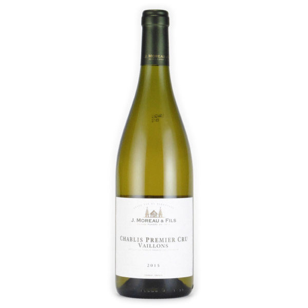 シャブリ・ヴァイヨン プルミエ・クリュ 2015 J.モロー フランス ブルゴーニュ 白ワイン 750ml