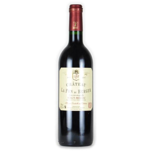 シャトー・ラ・フォン・デ・ ベルジェ クリュ・ブルジョワ 2007 シャトー元詰 フランス ボルドー 赤ワイン 750ml