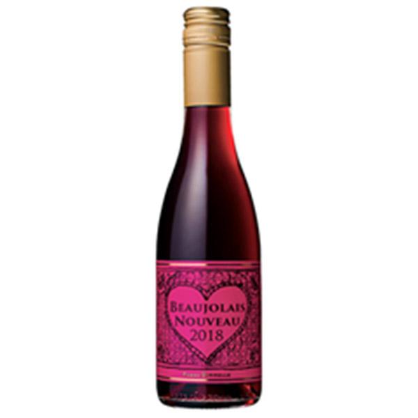 新酒ヌーボ11月15日解禁ボージョレ・ヌーボ 2018 ハーフサイズ ピエールポネル 新酒赤ワイン 375ml