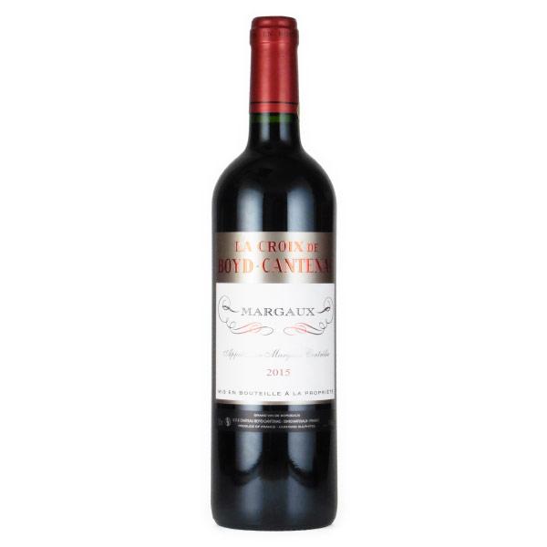 ラ・クロワ・ド・ボイド・カントナック 格付3級のセカンド 2015 シャトー元詰 フランス ボルドー 赤ワイン 750ml