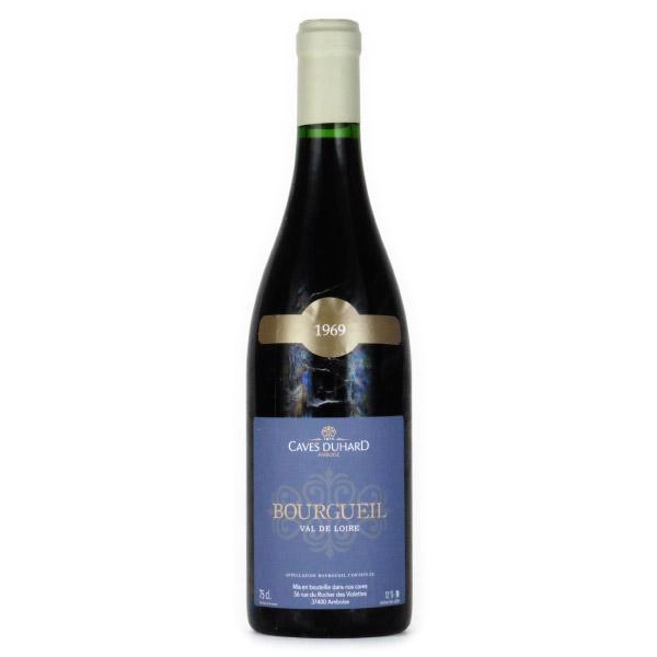 ブルグイユ 1969 カーヴ・デュアール フランス ロワール 赤ワイン 750ml