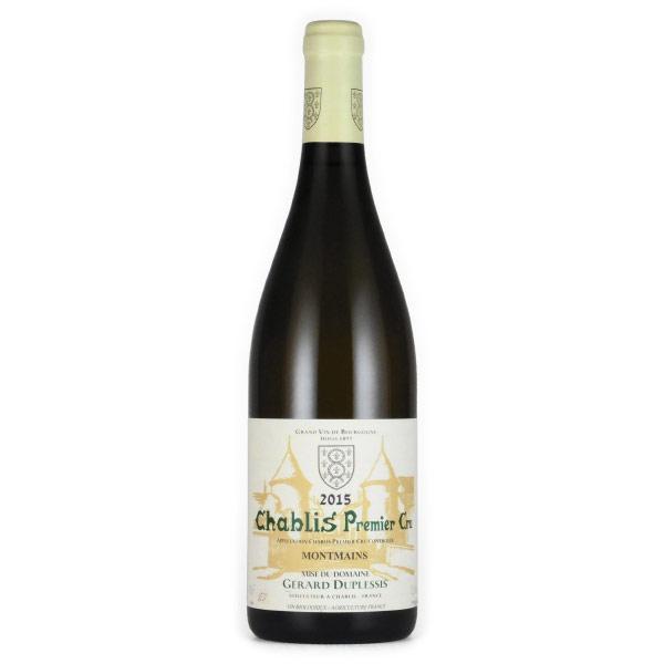 シャブリ プルミエ・クリュ・モンマン 2015 ジェラー・デュプレシ フランス ブルゴーニュ 白ワイン 750ml