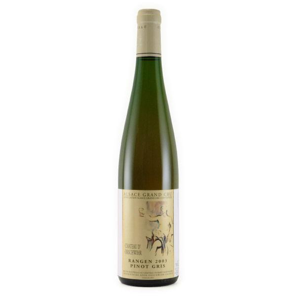 ピノ・グリ・グランクリュ ランゲン 2003 シャトー・ドルシュヴィール フランス アルザス 白ワイン 750ml
