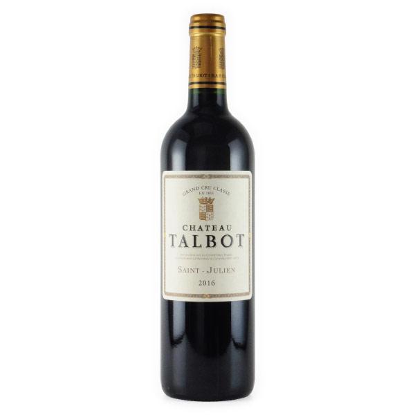 シャトー・タルボ 第4級 2016 シャトー元詰 フランス ボルドー 赤ワイン 750ml