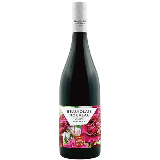 ボージョレ・ヌーボ・青山フラワーマーケットコラボ 2021 ハーフ フランス ブルゴーニュ 新酒赤ワイン 375ml