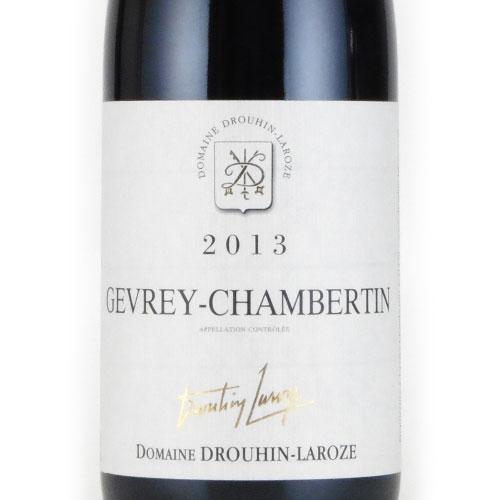 ジュヴレ・シャンベルタン 2013 ドメーヌ ドルーアン ラローズ フランス ブルゴーニュ 赤ワイン 750ml