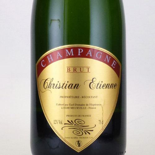クリスチャン・エティエンヌ キュベ・トラディション フランス シャンパーニュ 白ワイン 750ml