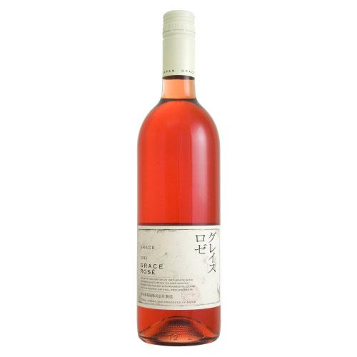 グレイス・ロゼ 2012 中央葡萄酒 日本 山梨県 ロゼワイン 720ml