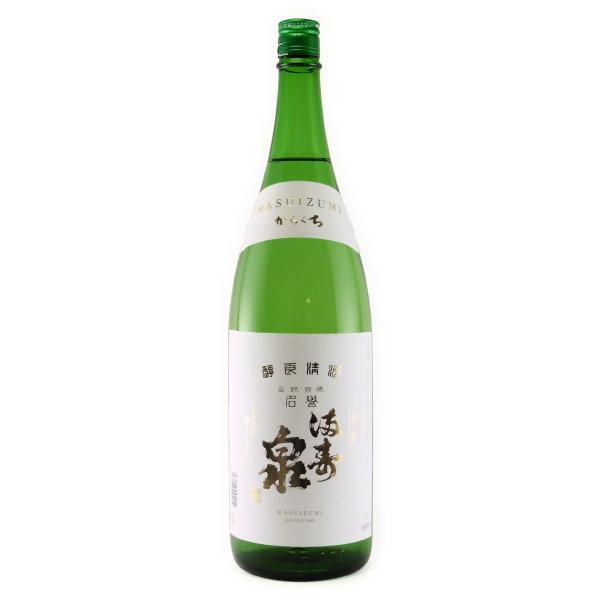 満寿泉 からくち 富山県枡田酒造 1800ml