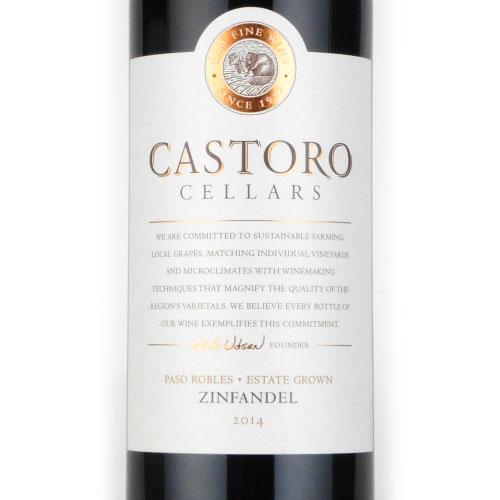 エステート ジンファンデル カストロセラーズ 2014 カストロ ワインズ カリフォルニア カリフォルニア 赤ワイン 750ml