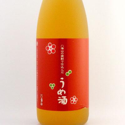 八海山の焼酎で仕込んだ梅酒  新潟県 八海山 1800ml