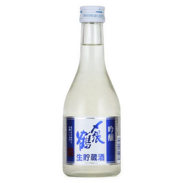 〆張鶴 吟醸 生貯蔵酒 限定酒 新潟県宮尾酒造 300ml