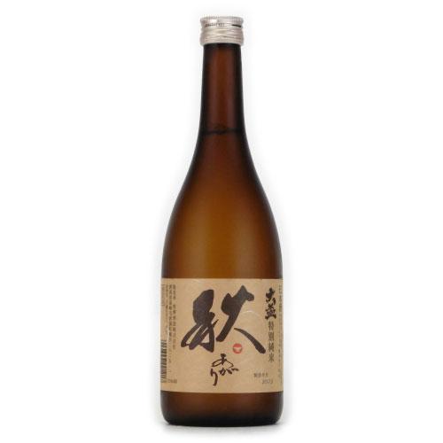 大盃 秋あがり 特別純米 生詰酒 秋期限定 群馬県牧野酒造 720ml