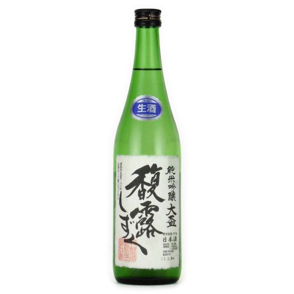 馥露しずく 純米吟醸(新酒生酒)720ml 群馬県倉渕町牧野酒造