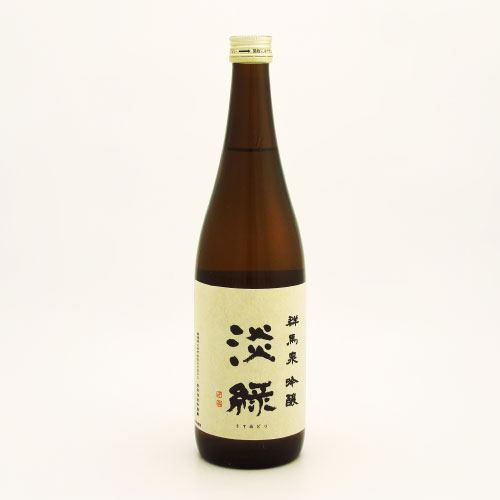 群馬泉 淡緑 吟醸酒 群馬県島岡酒造 720ml