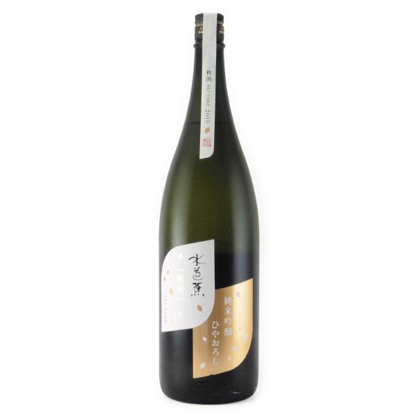 水芭蕉 ひやおろし 純米吟醸酒 秋期限定 群馬県永井酒造 1800ml