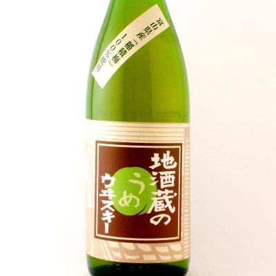 地酒蔵の梅ウイスキー  富山県 若鶴 1800ml