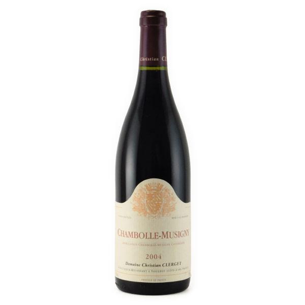 シャンボール・ミジュニー 2004 クリスチャン・クレルジェ フランス ブルゴーニュ 赤ワイン 750ml