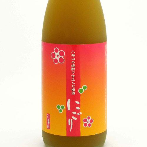 八海山の焼酎で仕込んだ梅酒・にごり 新潟県 八海山 720ml